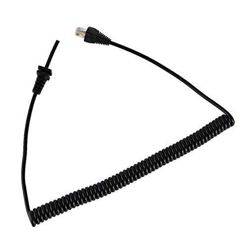 Mic Extension Cable For Yaesu Vertex Microphone MH-67A8J Microphone Cord_GG Practical Mic Extension Cable