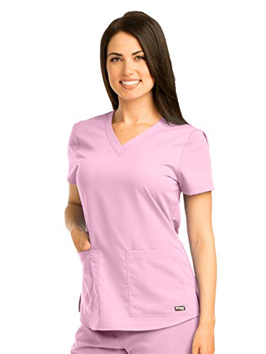 Pearl V-neck - Grey's Anatomy 71166 V-Neck Top Lilac Pearl 4XL
