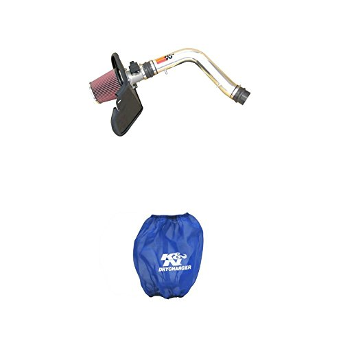 (K&N 77-9016KP Performance Air Intake System with Blue Air Filter Wrap)