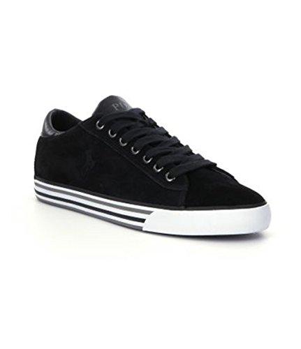 Polo Ralph Lauren Men's Harvey Black Sport Suede Sneaker 10.5 M