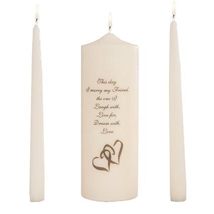 Amazon.com: Celebration Candles Wedding Unity 9 Inch This Day I