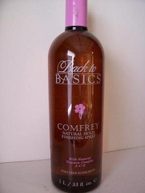 Back to Basics consoude Tenue naturelle 33 oz spray de finition / 1 Iitre (2 PACK)