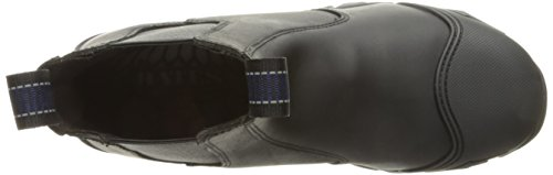 Bates Mens Strike Chelsea Comp Toe Slip-on Punta Di Sicurezza Nero