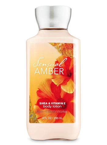 - Bath & Body Works Sensual Amber Body Lotion, 8 oz.