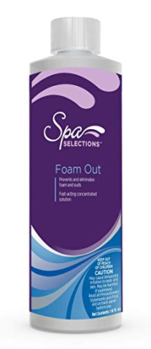 Spa Selections 86243 Foam Out, Brown/A