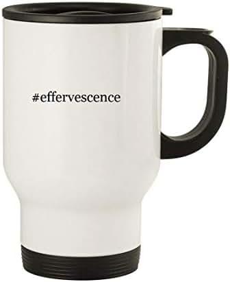 #effervescence - 14oz Stainless Steel Travel, White