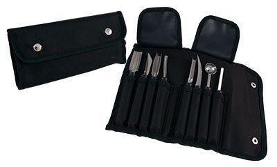 BarConic Small Garnish Tool Roll 8 pieces