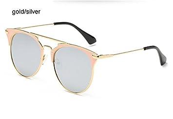 Aprigy Mirror - Gafas de Sol de Oro Rosa para Mujer ...