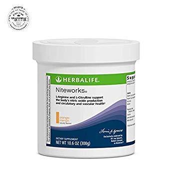 Niteworks Powder - Herbalife Niteworks Powder Mix (Orange Mango 10.6oz