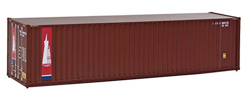 Walthers, Inc. Hi Cube Corrugated Container with Flat Roof Assembled Transamerica Leasing, 40'