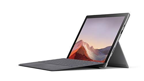 "Microsoft Surface Pro 7 12.3"" Tablet (Platinum) – Intel 10th Gen Dual Core i3, 4GB RAM, 128GB SSD, Windows 10 Home, 2019…"