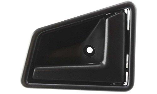 Evan-Fischer EVA18772050452 New Direct Fit Interior Door Handle for SIDEKICK 89-98 FRONT RH Inside Plastic Smooth Black 4-Door Replaces Partslink# (Suzuki Sidekick Front Door)