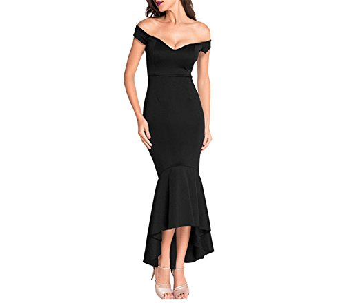 evening dress alexandra black - 8