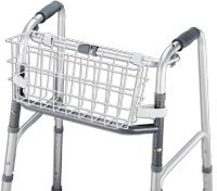 Universal Walker Basket,16 X 15 1/2 X 7, White by Duro-Med
