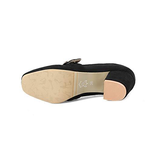 Femme Apl10676 Balamasa Noir Sandales Compensées 4zgtWBqR