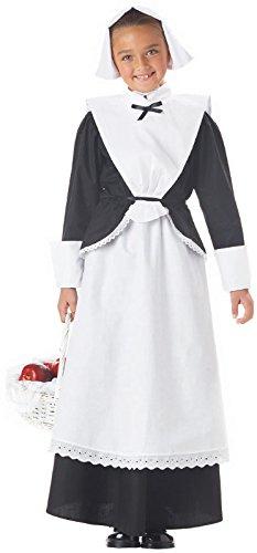 [Pilgrim Girl Costume - Small] (Baby Pilgrim Costumes)
