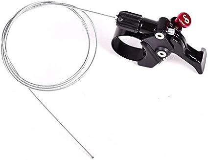 Remote Lockout Lever Kit Shifter Adjuster w Cable Housing Suspension bike Forks