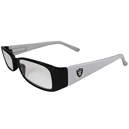 - NFL Team Color Reading Glasses (+1.25, Oakland Raiders)