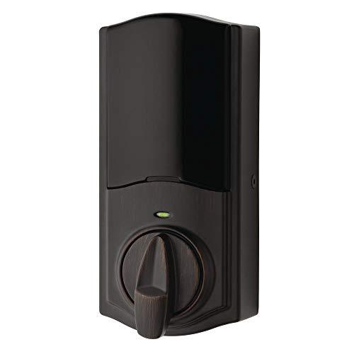 Kwikset Kevo Convert Electronic Smart Door Lock Venetian Bronze 99250-103