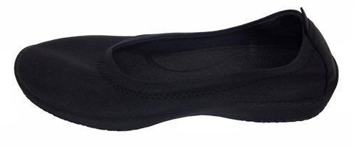 Arcopedico Women's L2 Casual Shoes,Black Leather,41 M EU