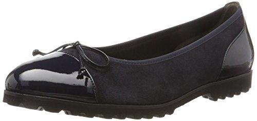 Gabor Shoes Gabor Jollys, Bailarinas Para Mujer Azul (Pazifik)