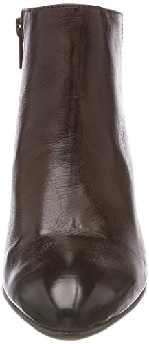 SELECTED SELECTED Donna Zip Marrone Leather FEMME Decadent Slfamber Chocolate Chocolate Decadent B Boot Stivali Zp0rZqg4n