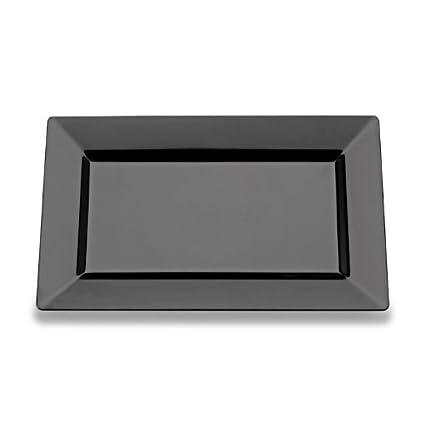 8 Inch Plastic Rectangular Plates 120 CT  sc 1 st  Amazon.com & Amazon.com: 8 Inch Plastic Rectangular Plates 120 CT: Kitchen \u0026 Dining
