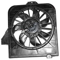 TYC 600390 Dodge/Plymouth/Chrysler Replacement Radiator Cooling Fan - Radiator Caravan Fan Assembly