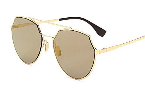 2017 Mirror Round Sunglasses Women Brand Designer Oversized Heart Shaped - Goggles Reyban
