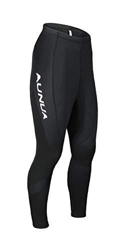Aunua Unisex 3mm Neoprene Wetsuit Pants Swimming Suits for Kayaking Keep Warm(9031 Black ()