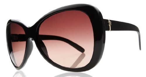 Electric Visual Magenta Butterfly Gloss Black/Brown Gradient - Electrics Sunglasses