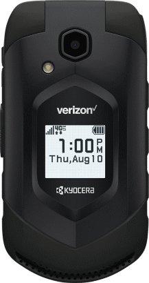 Kyocera DuraXV LTE E4610 Verizon Wireless Rugged Waterproof Flip Phone (Certified Refurbished)