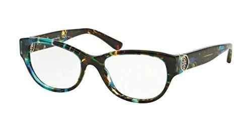 Tory Burch TY2060 Eyeglass Frames 3145-50 - Blue Brown Tort TY2060-3145-50