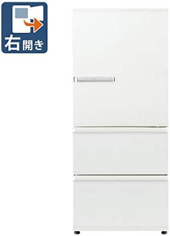 AQUA 【右開き】272L 3ドアノンフロン冷蔵庫 旬鮮チルド ミルク AQR-SV27J(W)