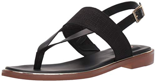 - CLARKS Women's Ellis Opal Sandal, Black Leather, 7.5 M US
