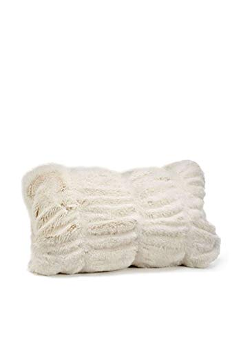 Donna Salyers' Fabulous-Furs Couture Collection Ivory Mink Faux Fur Pillows (12x22 in) (Ivory Mink) -  Fabulous Furs