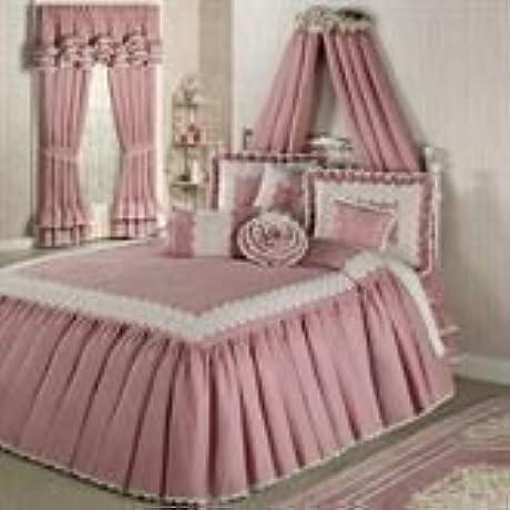 Memories Crochet Bedspread Blush King