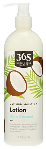365 by Whole Foods Market, Maxium Moisture Lotion, Island Coconut, 16 Fl Oz