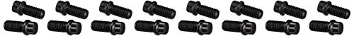 ARP 1001202 Header Bolts With 12-Point Heads, Chrome Moly Steel With Black Oxide Finish, Set Of 16, For Select Chevrolet Big Block ()