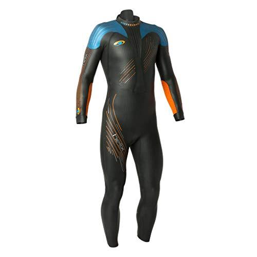 John Wetsuit Triathlon (blueseventy 2019 Men's Helix Triathlon Wetsuit - for Open Water Swimming - Ironman & USAT Approved - (L))