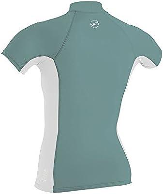 ONeill Oneill - Camiseta de Manga Corta para Mujer, Color Delete ...