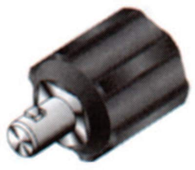 Lenco 05330 International Dinse Type Machine Plug Adapter, Dinse Male Adapter Connection