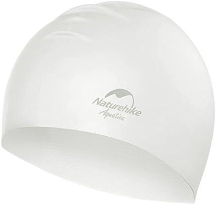 スイミングキャップ 水泳 競泳 水着用 キャップ トレーニング用 水泳帽 CE安全認証 髪の長い女性スイミングキャップ シリコン フリ ーサイズ 男女兼用