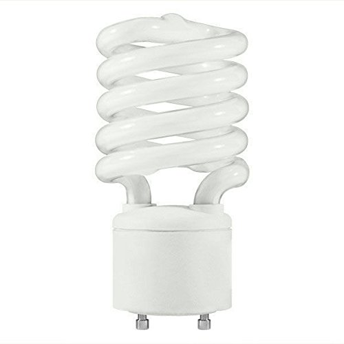 - 42 Watt - Spiral CFL - 150W Equal - 2700K Warm White - GU24 Base - MaxLite 70087