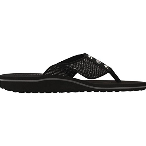 Tommy Hilfiger Sandals and Slippers for Women, Colour Black, Brand, Model Sandals and Slippers for Women FW0FW02393 Black Black
