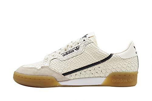 adidas Continental 80, Scarpe da Fitness Bambino Bianco (Blatiz/Carbon/Gricin 0)