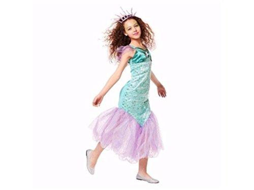 Mermaid Costume Target (Girls Mermaid Halloween Costume M (7-8))