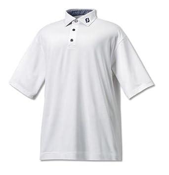FootJoy - Polo de golf con cuello liso de hilo de Escocia - RFM ...