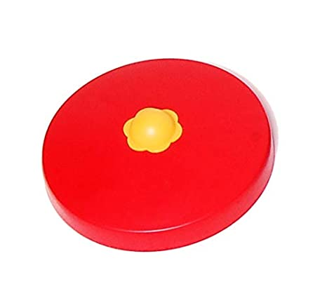 OTITU Just Fun Capuchon en Plastique pour Poteau Ronde Ø80 mm – Rouge