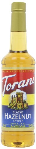 Classic Hazelnut Syrup (Torani Syrup, Classic Hazelnut, 25.4-Ounce Bottles (Pack of 3))